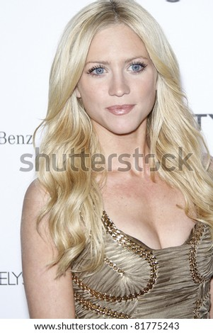 LOS ANGELES - JAN 15: Brittany Snow at the Art Of Elysium 'Heaven' Gala 2011 at The California Science Center Exposition Park in Los Angeles, CA on January 15, 2011 - stock photo