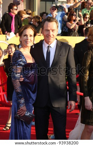 LOS ANGELES - JAN 29:  Bryan Cranston arrives at the 18th Annual Screen Actors Guild Awards at Shrine Auditorium on January 29, 2012 in Los Angeles, CA