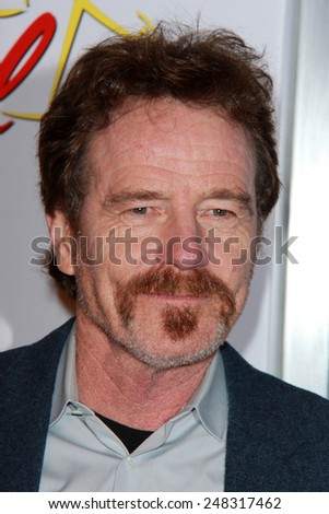 "LOS ANGELES - JAN 29:  Bryan Cranston at the ""Better Call Saul"" Series Premiere Screening at a Regal 14 Theaters on January 29, 2015 in Los Angeles, CA"