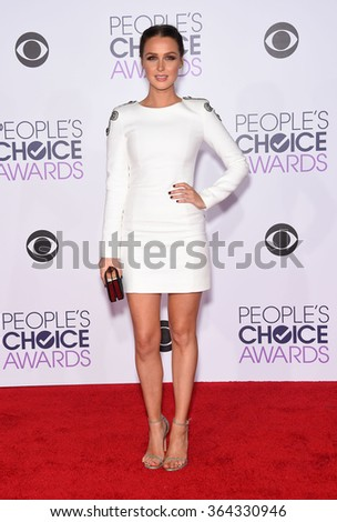 LOS ANGELES - JAN 06:  Camilla Luddington arrives to the People's Choice Awards 2016  on January 06, 2016 in Hollywood, CA.