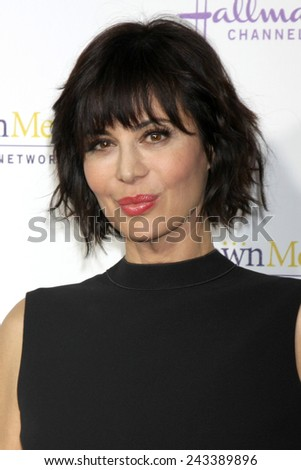 LOS ANGELES - JAN 8:  Catherine Bell at the Hallmark TCA Party at a Tournament House on January 8, 2014 in Pasadena, CA - stock photo