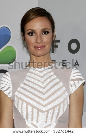 LOS ANGELES - JAN 11:  Catt Sadler at the NBC Post Golden Globes Party at a Beverly Hilton on January 11, 2015 in Beverly Hills, CA - stock photo