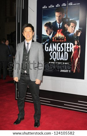 LOS ANGELES - JAN 7: Dan Lin at Warner Bros. Pictures' 'Gangster Squad' premiere at Grauman's Chinese Theater on January 7, 2013 in Los Angeles, California - stock photo