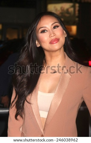 """LOS ANGELES - JAN 20:  Dorothy Wang at the """"Manny"""" Los Angeles Premiere at a TCL Chinese Theater on January 20, 2015 in Los Angeles, CA - stock photo"""