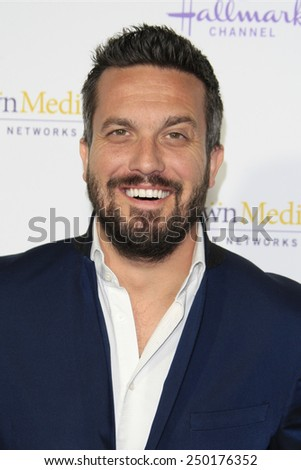 LOS ANGELES - JAN 8: Fabio Viviani at the TCA Winter 2015 Event For Hallmark Channel and Hallmark Movies & Mysteries at Tournament House on January 8, 2015 in Pasadena, CA - stock photo