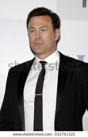 LOS ANGELES - JAN 11:  Grant Bowler at the NBC Post Golden Globes Party at a Beverly Hilton on January 11, 2015 in Beverly Hills, CA - stock photo