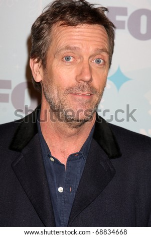 LOS ANGELES - JAN 11:  Hugh Laurie arrives at the FOX TCA Winter 2011 Party at Villa Sorriso on January 11, 2011 in Pasadena, CA