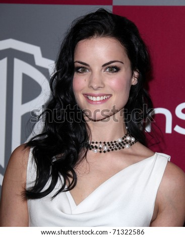 LOS ANGELES - JAN 16:  Jaimie Alexander arrives to the 12th Annual WB-In Style Golden Globe After Party  on January 16, 2011 in Beverly Hills CA - stock photo