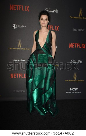 LOS ANGELES - JAN 10:  Jaimie Alexander at the Weinstein Company & Netflix 2016 Golden Globe After Party at the Beverly Hilton on January 10, 2016 in Beverly Hills, CA - stock photo