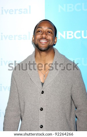 LOS ANGELES - JAN 6:  Jaleel White arrives at the NBC Universal All-Star Winter TCA Party at The Athenauem on January 6, 2012 in Pasadena, CA - stock photo