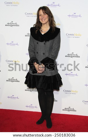 LOS ANGELES - JAN 8: Jeanette Pavini at the TCA Winter 2015 Event For Hallmark Channel and Hallmark Movies & Mysteries at Tournament House on January 8, 2015 in Pasadena, CA - stock photo