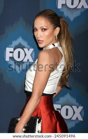 LOS ANGELES - JAN 17:  Jennifer Lopez at the FOX TCA Winter 2015 at a The Langham Huntington Hotel on January 17, 2015 in Pasadena, CA - stock photo