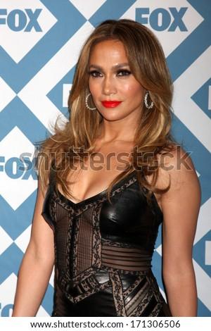 LOS ANGELES - JAN 13:  Jennifer Lopez at the FOX TCA Winter 2014 Party at Langham Huntington Hotel on January 13, 2014 in Pasadena, CA - stock photo