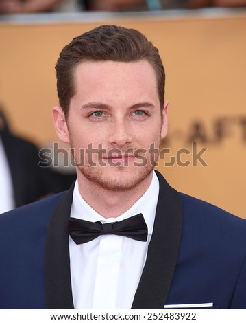 LOS ANGELES - JAN 25:  Jesse Lee Soffer arrives to the 21st Annual Screen Actors Guild Awards  on January 25, 2015 in Los Angeles, CA                 - stock photo