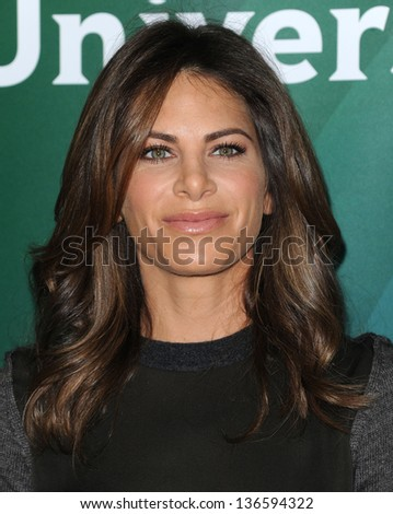 LOS ANGELES - JAN 06:  Jillian Michaels arrives to the NBC All Star Winter TCA 2013  on January 06, 2013 in Pasadena, CA