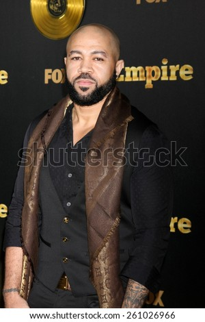 "LOS ANGELES - JAN 6:  Jim Beanz at the FOX TV ""Empire"" Premiere Event at a ArcLight Cinerama Dome Theater on January 6, 2014 in Los Angeles, CA - stock photo"