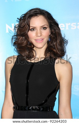 LOS ANGELES - JAN 6:  Katharine McPhee arrives at the NBC Universal All-Star Winter TCA Party at The Athenauem on January 6, 2012 in Pasadena, CA