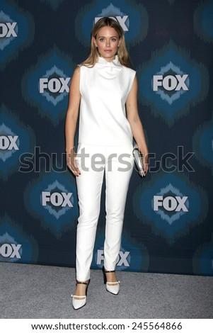 LOS ANGELES - JAN 17:  Katia Winter at the FOX TCA Winter 2015 at a The Langham Huntington Hotel on January 17, 2015 in Pasadena, CA - stock photo