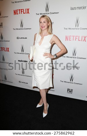 LOS ANGELES - JAN 11:  Kelly Rutherford at the The Weinstein Company / Netflix Golden Globes After Party at a Beverly Hilton Adjacent on January 11, 2015 in Beverly Hills, CA - stock photo