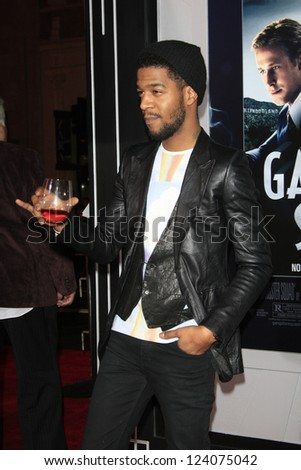 LOS ANGELES - JAN 7: Kid Cudi at Warner Bros. Pictures' 'Gangster Squad' premiere at Grauman's Chinese Theater on January 7, 2013 in Los Angeles, California - stock photo