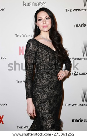 LOS ANGELES - JAN 11:  Laura Prepon at the The Weinstein Company / Netflix Golden Globes After Party at a Beverly Hilton Adjacent on January 11, 2015 in Beverly Hills, CA - stock photo