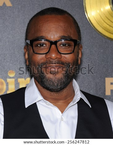 "LOS ANGELES - JAN 06:  Lee Daniels arrives to the ""Empire"" Los Angeles Premiere  on January 6, 2015 in Hollywood, CA                 - stock photo"