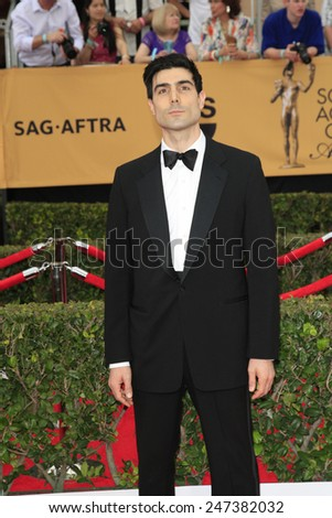 LOS ANGELES - JAN 25:  Louis Cancelmi at the 2015 Screen Actor Guild Awards at the Shrine Auditorium on January 25, 2015 in Los Angeles, CA - stock photo