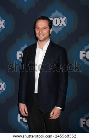 LOS ANGELES - JAN 17:  Matthew Rhys at the FOX TCA Winter 2015 at a The Langham Huntington Hotel on January 17, 2015 in Pasadena, CA - stock photo