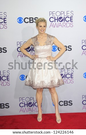 LOS ANGELES - JAN 9: Monica Potter at the 39th Annual People's Choice Awards at Nokia Theater L.A. Live on January 9, 2013 in Los Angeles, California