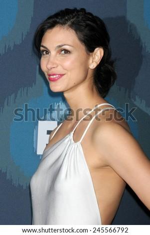 LOS ANGELES - JAN 17:  Morena Baccarin at the FOX TCA Winter 2015 at a The Langham Huntington Hotel on January 17, 2015 in Pasadena, CA - stock photo