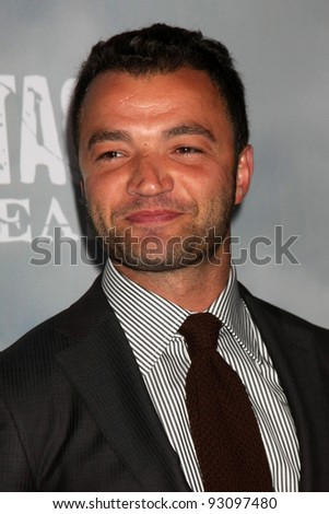"LOS ANGELES - JAN 18:  Nick Tarabay. arrives at  the ""Spartacus: Vengeance"" Screening of the STARZ Series Season 3 Premiere at ArcLight Theaters on January 18, 2012 in Los Angeles, CA"
