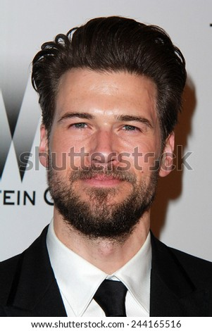 LOS ANGELES - JAN 11:  Nick Zano at the The Weinstein Company / Netflix Golden Globes After Party at a Beverly Hilton Adjacent on January 11, 2015 in Beverly Hills, CA - stock photo