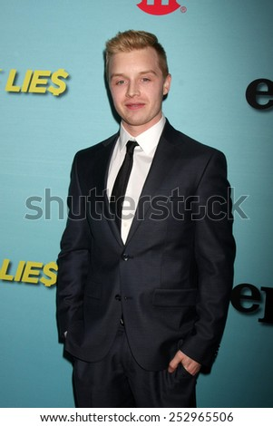 """LOS ANGELES - JAN 5:  Noel Fisher at the Showtime Celebrates All-New Seasons Of """"Shameless,"""" """"House Of Lies"""" And """"Episodes"""" on January 5, 2014 in West Hollywood, CA - stock photo"""