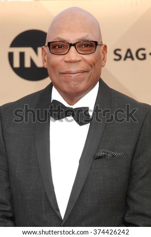 LOS ANGELES - JAN 30:  Paris Barclay at the 22nd Screen Actors Guild Awards at the Shrine Auditorium on January 30, 2016 in Los Angeles, CA - stock photo