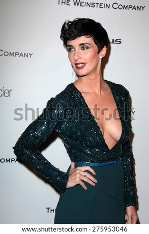 LOS ANGELES - JAN 11:  Paz Vega at the The Weinstein Company / Netflix Golden Globes After Party at a Beverly Hilton Adjacent on January 11, 2015 in Beverly Hills, CA - stock photo