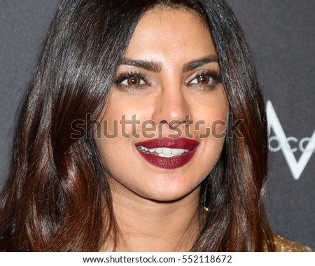 LOS ANGELES - JAN 8:  Priyanka Chopra at the Weinstein And Netflix Golden Globes After Party at Beverly Hilton Hotel Adjacent on January 8, 2017 in Beverly Hills, CA