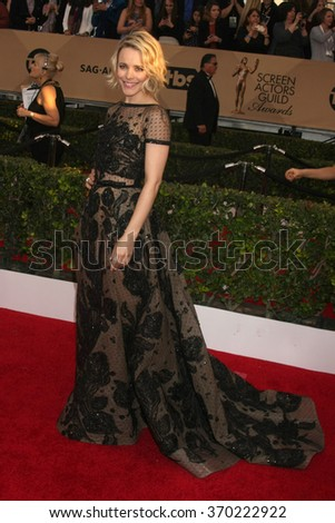 LOS ANGELES - JAN 30:  Rachel McAdams at the 22nd Screen Actors Guild Awards at the Shrine Auditorium on January 30, 2016 in Los Angeles, CA - stock photo