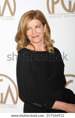 LOS ANGELES - JAN 24:  Rene Russo at the Producers Guild of America Awards 2015 at a Century Plaza Hotel on January 24, 2015 in Century City, CA - stock photo