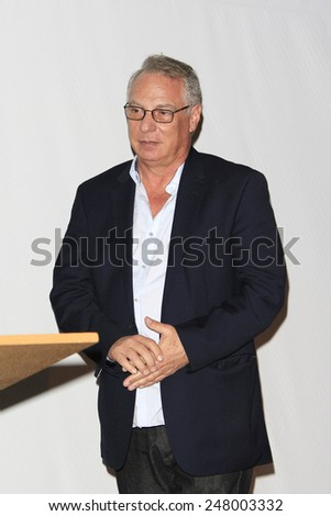 LOS ANGELES - JAN 28: Richard Walden at the 30th Anniversary of 'We Are The World' at The GRAMMY Museum on January 28, 2015 in Los Angeles, California - stock photo