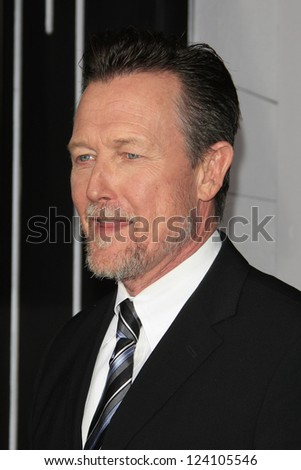 LOS ANGELES - JAN 7: Robert Patrick at Warner Bros. Pictures' 'Gangster Squad' premiere at Grauman's Chinese Theater on January 7, 2013 in Los Angeles, California - stock photo