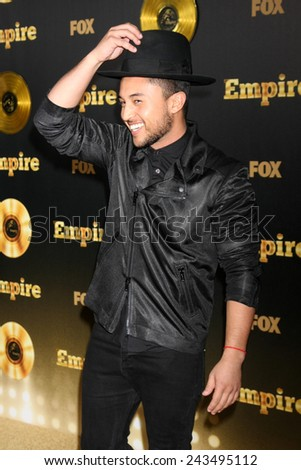 "LOS ANGELES - JAN 6:  Tahj Mowry at the FOX TV ""Empire"" Premiere Event at a ArcLight Cinerama Dome Theater on January 6, 2014 in Los Angeles, CA - stock photo"