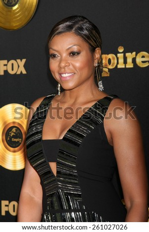 "LOS ANGELES - JAN 6:  Taraji P Henson at the FOX TV ""Empire"" Premiere Event at a ArcLight Cinerama Dome Theater on January 6, 2014 in Los Angeles, CA"