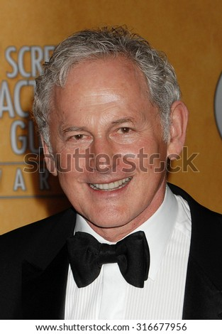 LOS ANGELES - JAN 27 - Victor Garber arrives at the 19th Annual Screen Actors Guild Awards Press Room  on January 27, 2013 in Los Angeles, CA              - stock photo