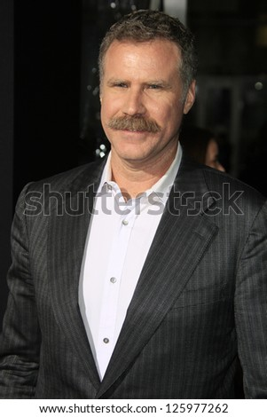LOS ANGELES - JAN 24:  Will Farrell arrives at the the 'Hansel And Gretel: Witch Hunters' premiere at the Chinese Theat theer on January 24, 2013 in Los Angeles, CA - stock photo