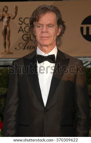 LOS ANGELES - JAN 30:  William H Macy at the 22nd Screen Actors Guild Awards at the Shrine Auditorium on January 30, 2016 in Los Angeles, CA - stock photo