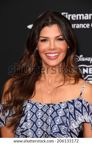"LOS ANGELES - JUL 16:  Ali Landry at the ""Planes: Fire & Rescue"" World Premiere at the El Capitan Theater on July 16, 2014 in Los Angeles, CA - stock photo"