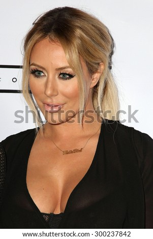 LOS ANGELES - JUL 23:  Aubrey O'Day at the Michael Costello And Style PR Capsule Collection Launch Party  at the Private Location on July 23, 2015 in Los Angeles, CA - stock photo