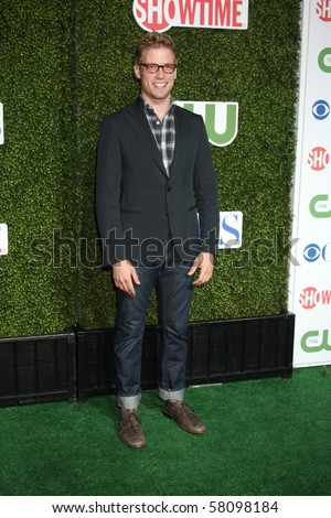 LOS ANGELES - JUL 28:  Barrett Foa arrives at the 2010 CBS, The CW, Showtime Summer Press Tour Party  at The Tent Adjacent to Beverly Hilton Hotel on July28, 2010 in Beverly Hills, CA ...