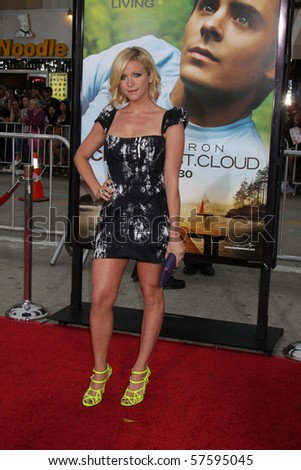 """LOS ANGELES - JUL 20:  Brittany Snow arrives at the """"Charlie St. Cloud"""" Premiere at Village Theater on July 20, 2010 in Westwood, CA .... - stock photo"""