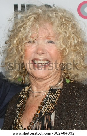 "LOS ANGELES - JUL 11:  Connie Stevens at the ""Tab Hunter Confidential"" at Outfest at the Directors Guild of America on July 11, 2015 in Los Angeles, CA - stock photo"
